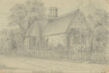 G.C.Harry - Mid 19th Century Graphite Drawing, Thickthorne Cottage