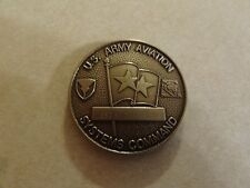 CHALLENGE COIN US ARMY AVIATION SYSTEMS COMMAND NAMED AND SERIAL NUMBERED OLDER