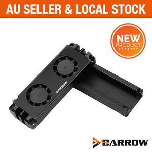 Barrow 2280 / 22110 M.2 SSD PCIe NVMe SATA PC Dual Fan Radiator cooler heatsink