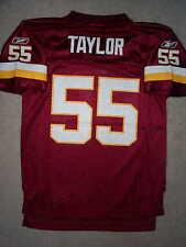 REEBOK Washington Redskins JASON TAYLOR nfl THROWBACK Jersey YOUTH KIDS BOYS m