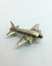 Sterling Silver Charm Vintage Aeroplane