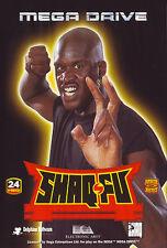 # shaq-Fu-Sega Mega Drive/MD juego-Top #