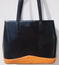 Prada Black Patent Leather Purse - Med/Large Tote Style