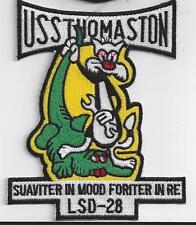 USS Thomaston LSD-28 Patch - Cat No. C7240