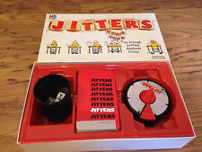 JITTERS Word Game MB Games 1987 Family Classic Vintage Timer Board