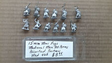 15mm Mini Figs Medieval Men At Arms  assorted Positions