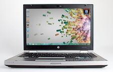 HP Elitebook 8460p 2.5GHz Quad Core i5-2520M Win10 64bit 4GB 250GB DVDRW USB3.0