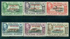 SOUTH SHETLANDS 5L1-6 SG#D1-6 MH 1944 Defin short set of 6 Cat$25