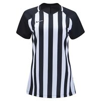 NIKE STRIPED DIVISION III JERSEY Womens Soccer Jersey Black/White Medium #894099