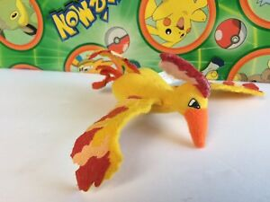 Pokemon Plush Moltres Finger Puppet Tomy Doll stuffed animal UFO figure toy