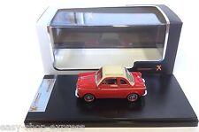 Fiat 500 NSU Weinsberg 1961 ROUGE 1:43 PREMIUM X IXO VOITURE RESINE PR0021