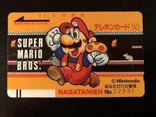 SUPER MARIO BROS TELEPHONE CARD