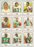 2009 Topps Mayo Miami Dolphins Team Set 13 Cards Dan Marino Anthony Fasano ++