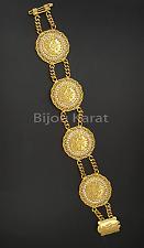 Ceyrek Tugra Bileklik Bilezik Münzen Gold Münz Armband 22 Ayar Altin Kaplama NEU