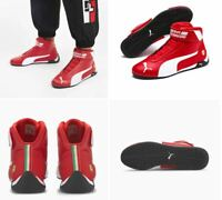 NIB Men's Puma Scuderia Ferrari R-Cat Mid Motorsport Shoes 339938 Red