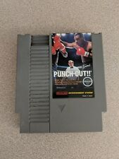 MIKE TYSON'S PUNCH OUT!! NINTENDO NES NRMT CONDITION GAME CARTRIDGE