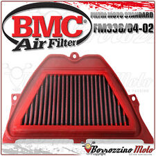 AIR FILTER PERFORMANCE BMC WASHABLE FM336/04-02 HONDA CBR 600 RR CBR600RR 2004