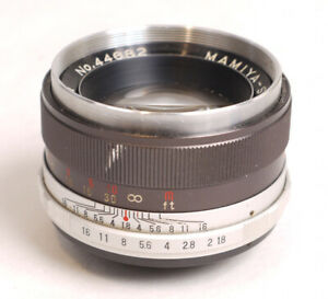 Mamiya 55mm F1.8 Lens for M42/Pentax Thread Mount - Nice Glass