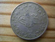 1913 H EGITTO 2/10 QIRSH AH1327 ANNO 04 Coin