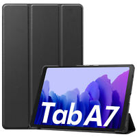 "New Samsung Galaxy Tab A7 SM-T500 10.4"" 32GB or 64GB WiFi ONLY Gray with Case"