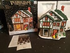 Year 2002 Victorian Village Lighted O'Tooles's Tavern In Box