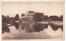 Warwickshire; Stratford, Shakespeare Memorial Theatre PPC By Photochrom, Unused