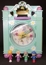 Polly Pocket mini 💛 1991-Polly Pocket Funtime Clock Playset 100%