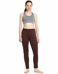 Leveret Women's Pants Fitted Yoga Pants Workout Legging 100% Cotton (Size