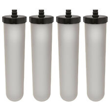 Ceramic Water Filter Cartridge Replacement for M15 Supercarb, Ultracarb x 4