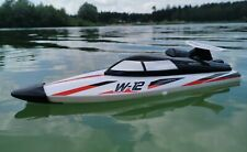 2 St. x DEFEKTES RC Speedboot TIGER SHARK ferngesteuertes Schiff Boot Rennboot