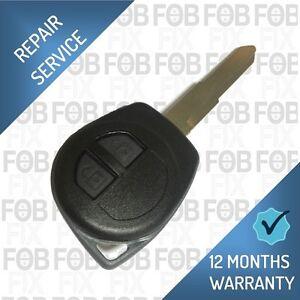 Fiat Sedici Remote Key Fob Repair Fix Service