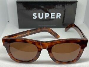 Retrosuperfuture 187 Ciccio Havana Frame 50mm Sunglasses NIB