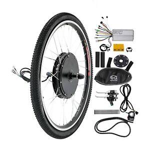 """26"""" 48V 1000W Rear Wheel Electric Bicycle Motor Conversion Kit E-Bike US"""