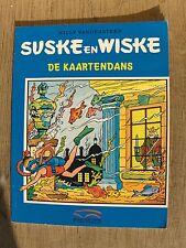 Speciale Suske en Wiske De kaartendans met blauwe omslag !!