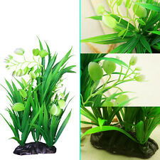 Artificial Green Fake Plant Grass for Aquarium Fish Tank Pond Water Decor Prof
