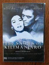 The Snows Of Kilimanjaro DVD Region All New & Sealed Gregory Peck Susan Hayward
