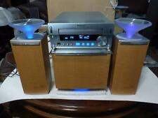 Hi-End Sony Hcd-Sd1 Mini System Cd Receiver w Sa-Csd1 Sub & Speakers Super Rare