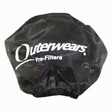 "New 3"" x 3"" Outerwears Black Pre-Filter Air Cleaner Go Kart Racing Cart Parts"