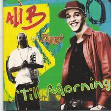 Ali B-Till Morning cd single