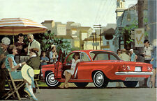 1960 Chevrolet Corvair Monza Coupe, RED, Refrigerator Magnet, 40 MIL
