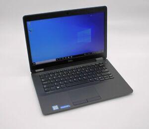 DELL LATITUDE E7470 INTEL CORE I7 - 6600U @ 2.6GHz 8GB 256GB SSD CAM WIFI WIN10