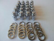 "Holden Valiant 16 PCS Wheel nuts & 4Lock nuts Centerline Jellybean 7/16"" x 3/4"""