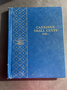 CANADIAN SMALL CENTS 1920-1969 COMPLETE with fifty-four (54) Coins