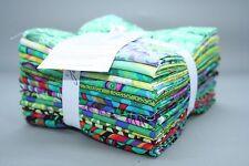 Kaffe Fassett Collective Classics GREEN 15 x Fat Quarter Bundle Quilt/Patchwork