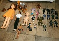 Vintage Mixed Random 70s-90s Figures/Doll Lot