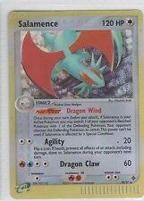 Salamence . EX Dragon . 10/97 . Pokemon TCG . MP . Rare Reverse Holo