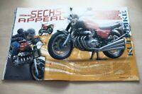 PS Sport Motorrad 3014) Benelli 750 Sei in einer seltenen Vorstellung auf 6 Se