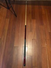Billiard Factory Mahogany Pool Stick  With Black Leather Carrying Case