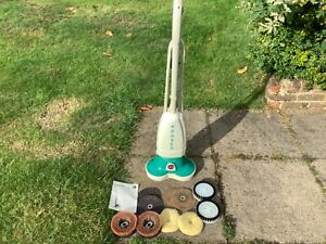Hoover Model 5464 Floor Shampoo Polisher Scrubber. Inc  all pads & book