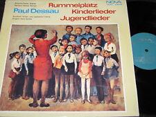 PAUL DESSAU Rummelplatz Kinderlieder Jugendlieder /DDR Reissue LP'73 NOVA 885034